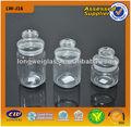 3 tamanho armazenamento jar vasilha de vidro 250ml/500ml/1000ml