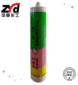 DAMASHI A-18 Acetoxy Silicone Sealant For Decoration