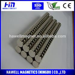 NINGBO factory disc neodymium magnet N35,N38,N40,N42,N48,N52