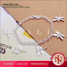 Lekani five dragonfly charm for teen girls gifts wholesale LKNSPCH092