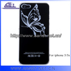 Waterproof butterfly hard case for iphone 5