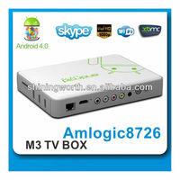 Newest Amlogic dual core Mini PC Smart tv Android DVB-T2 TV box