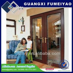 Double glazing thermal break aluminium doors and windows