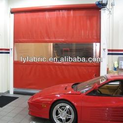 Fire Retardant pvc coated tarpaulin fabric used for roll up door