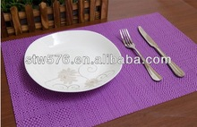 2015 textile fabric/ promotional dining mat