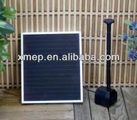 Solar garden fountain pumps