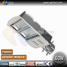 led street lights 60 watt, led public lighting cool white 6500k