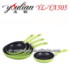 Aluminum Non-stick Frying pan Green Frying pan Environmental cookware
