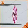 precio de venta al por mayor cz grado aaa mq de color rosa forma de diamantes cz
