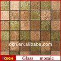 popular diseño de mosaico de vidrio de arte