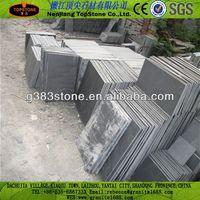 professional manufacture calibrated black slate tile