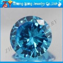 Synthetic Diamond Price Per Carat/Aquamarine Gemstone Round