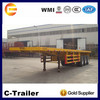 Performance flatbed container semi-trailer for sale