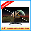 2014 HOT NON-FRAME and SUPER SLIM 65 inch LED TV and Ultra HD TV 4K TV