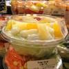PET diamond dispoable plastic salad food container