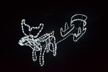 MAX 150CM christmas led deer led christmas motif light