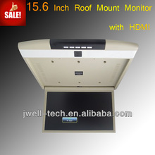 15 Inch Bus Roof Mounted Car Lcd Monitor With Hdmi Input