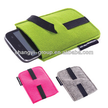 (FA-01) Hot Selling Felt Colorful Mobile Phone Case