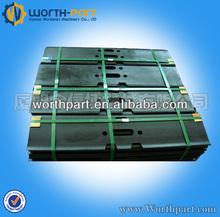 Kobelco SK07 excavator undercarriage part single grouser track pad
