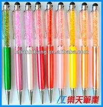LT-W091 Metal slim crystal USB touch ballpoint pen
