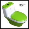 High Standard Siphon Jet FlushingOne pieces toilet