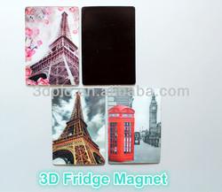 customize high quality 3d fridge magnets