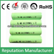 rechargeable batteries nimh aa 1200mah 1.2v