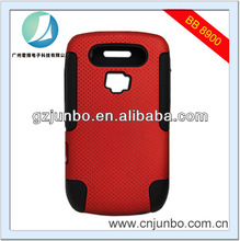Dual Color PC TPU Mobile Phone Case for Blackberry 8900