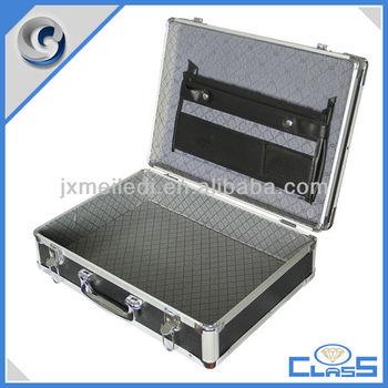 MLDGJ466 Superior Quality Black Customized Professional Durable Aluminium Laptop Case