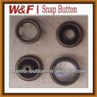 Best high quality metal prong snap button/snap clip buttons with garment