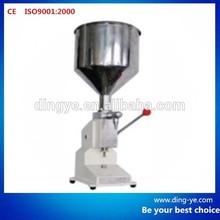 Manual bottle filler A03 fruit juice filling machine