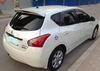 High quality Spoiler for NISSAN TIIDA 2011+ rear spoiler with light
