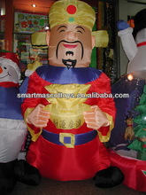 lunar chinese new year inflatable chinese god of fortune