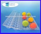 PET Food Grade Custom Clamshell Macaron Packaging