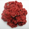 Thailand Artificial beautiful rose wedding flowers scrapbooking red roses with stem