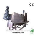 de alta eficiencia de tratamiento de aguas residuales de la planta de equipos