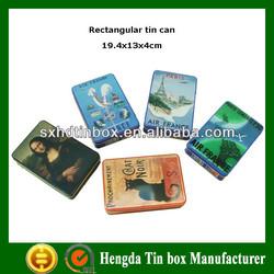 Hot sale business card tin box