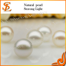 Perfect Round Loose excellent Quality White Round half hole full hole Freshwater Pearl