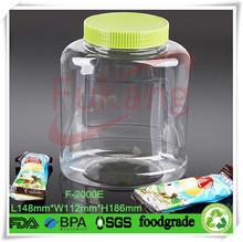 2 liter plastic bottle , wholesale PET 2 liter plastic bottle with handle cap