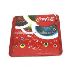 promo speciality customizing cork coaster/ pad/ mat