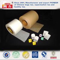 Heat sale food grade qualitative rolls Heat Seal Tea Bag Filter Paper Tea filter paper