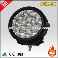 "2014 New Model 90W LED Car Light 7"" Round LED Driving Light Offroad LED 4x4 Spot lights for SUV, ATV Car LED Headlight"