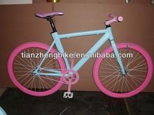 700x25c single speed aluminum racing bike TZ-C7020,fixed gear bike,fixie bikes