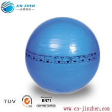 high quality PVC soft transparent gym/yoga ball