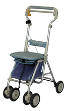 Disabled personal rolling folding fabric/cloth shopping cart/Trolley for elderly/senior