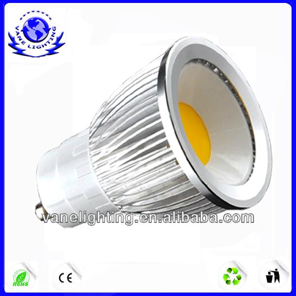 High Quality Aluminum GU10 COB 5w Led Spot Lighting
