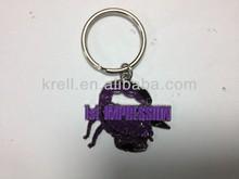 custom fashion scorpion 3d keychain