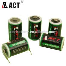 3.6v lithium battery 1/2aa er14250 battery