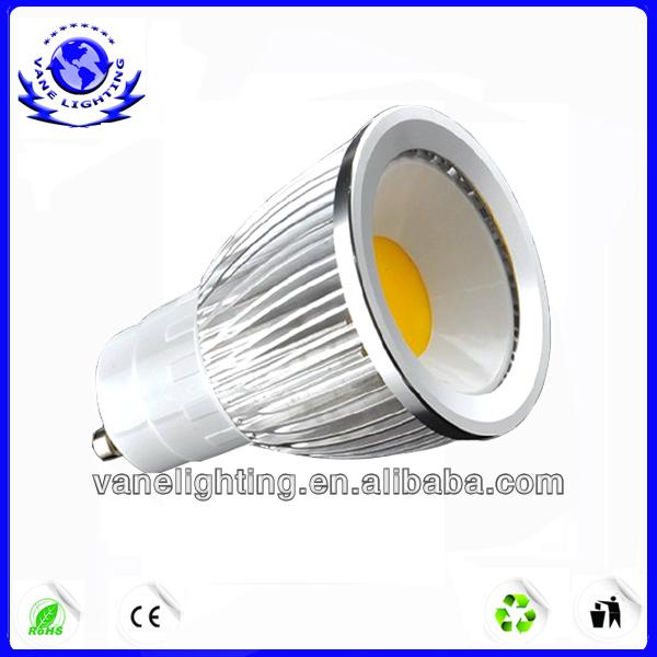 Black Housing High Power MR 16 cob 3w Led Spot Light