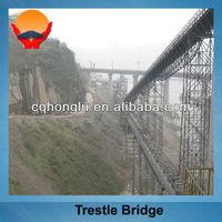 Structural Steel Trestle Bridge Design